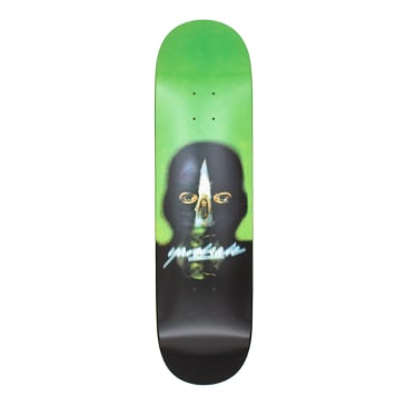 "Yardsale Gnar Man Green Skateboard Deck - 8.5"""