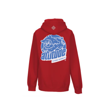 The National Skateboard Co Attitude Hooded Sweatshirt - Red