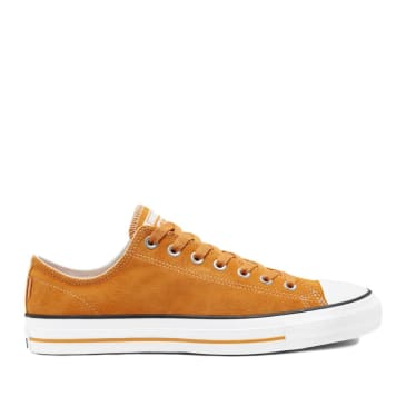 Converse CONS CTAS Pro Ox Suede Shoes - Gold / White / Sunflower