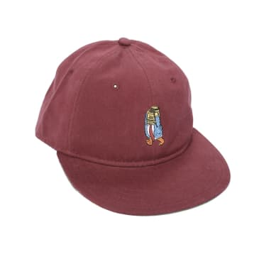 Theories Ecunumy Snapback Burgundy