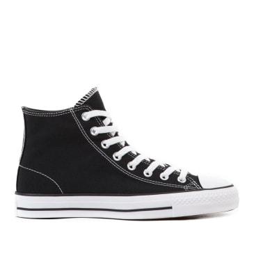Converse CONS CTAS Pro Hi Canvas Shoes - Black / Black / White
