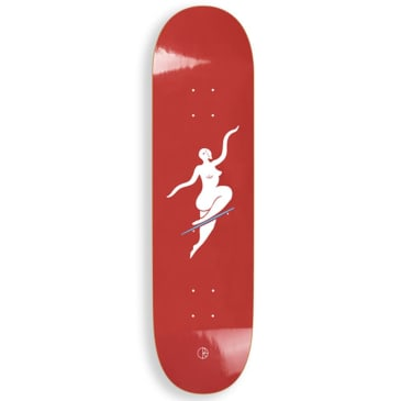 "Polar Skate Co - No Comply Red Deck 7.875"" Wide"