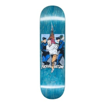 Fucking Awesome Arrested Dill Skateboard Deck - 8.25""