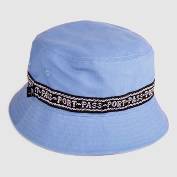 "PASS~PORT ""BARBS"" BUCKET CAP PALE BLUE"