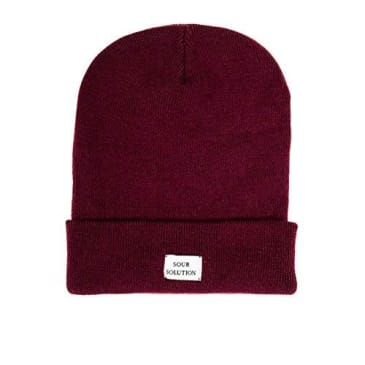 SOUR GM BEANIE - WINE