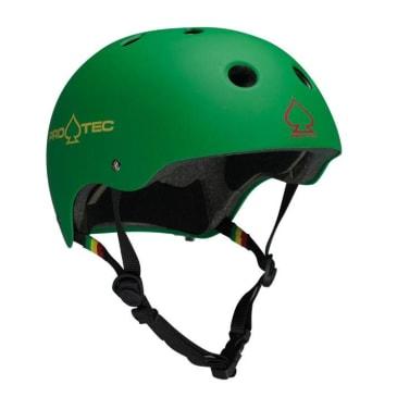 Classic Helmet Rasta Green