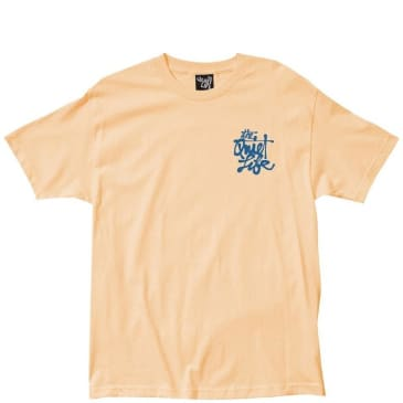The Quiet Life Cody Script T-Shirt - Squash