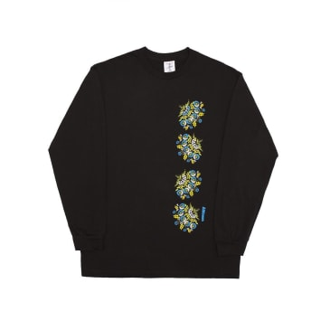 Alltimers Nanas Plates Long Sleeve T-Shirt - Black