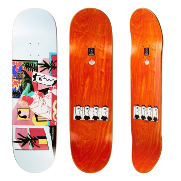 Polar Skate Co Nick Boserio The Artist Skateboard Deck - 8.625""