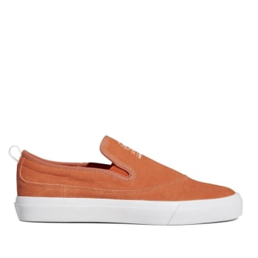 adidas Skateboarding Matchcourt Slip-On Shoes - Semi Coral / Cloud White / Gum