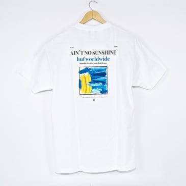 Huf - Ain't No Sunshine T-Shirt - White