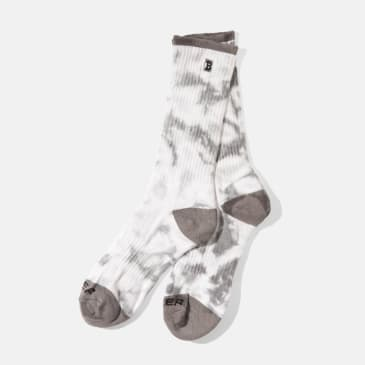 Baker Skateboards Capital B Socks Grey Tie Dye