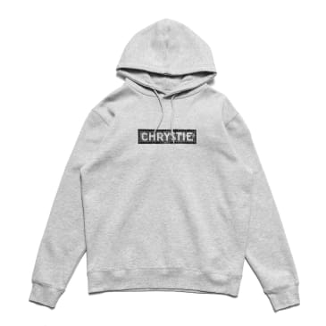 Chrystie Station Logo Hoodies_Heather Grey