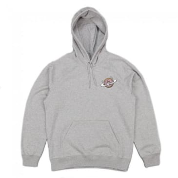 Skateboard Cafe Planet Donut Pullover Hoodie - Heather Grey