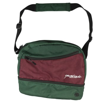 Yardsale Hi8 Shoulder Bag - Forest / Plum