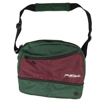 Yardsale Hi8 Shoulder Bag - Forest / Plum