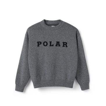 Polar Skate Co Polar Knit Sweater - Black