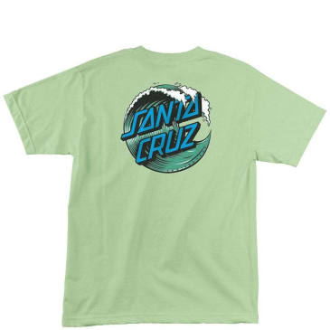 Santa Cruz Wave Dot T-Shirt - Mint