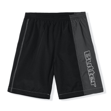 Butter Goods Quarter Nylon Shorts - Black / Grey