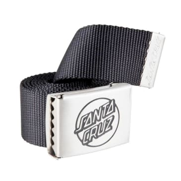 Santa Cruz Opus Belt - Black-Silver