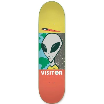 Alien Workshop Visitor Tourist Sml Skateboard Deck - 8.00
