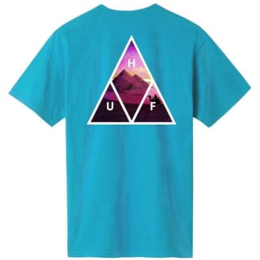 HUF Mirage Triple Triangle T-Shirt - Turquoise