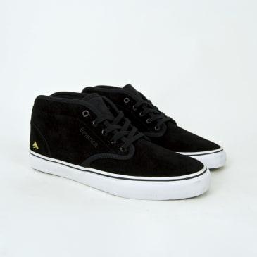 Emerica - Wino G6 Mid Shoes - Black / White / Gold