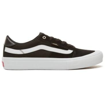Vans 112 Low Pro Shoes Black/White/Khaki