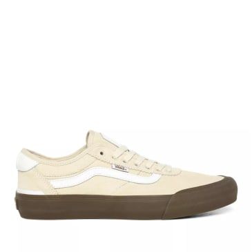 Vans Chima Pro 2 Skate Shoes - Dark Gum/ Dove / White
