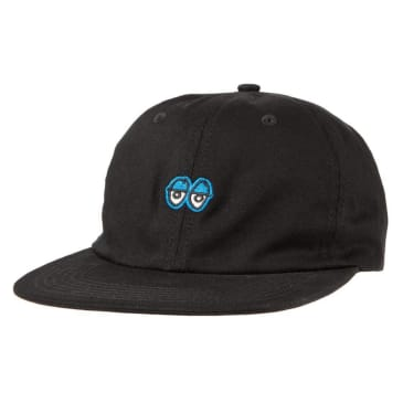Krooked Skateboards - Eyes Strapback Cap - Black / Royal