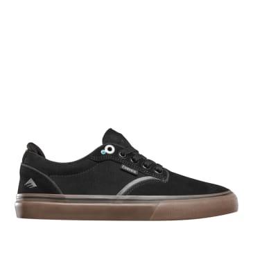 Emerica Dickson Skate Shoes - Black / Gum