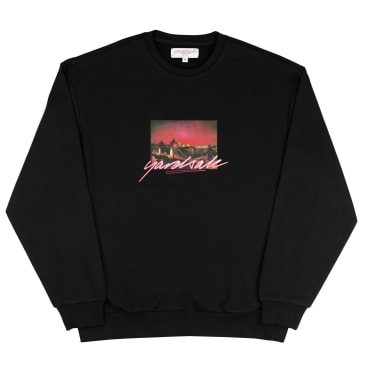 Yardsale Tower Crewneck - Black