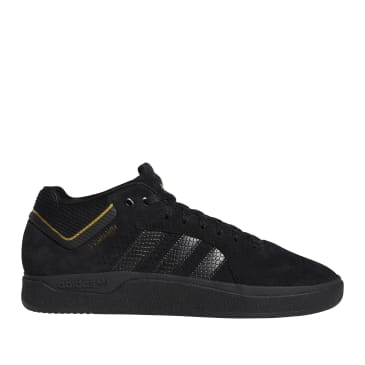 adidas Skateboarding Tyshawn Jones Shoes - Core Black / Core Black / Gold Metallic