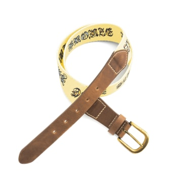 Bronze 56k Bronze Icy Hot Belt - Yellow