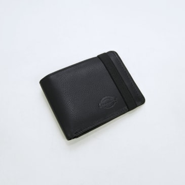 Dickies - Wilburn Wallet - Black Leather