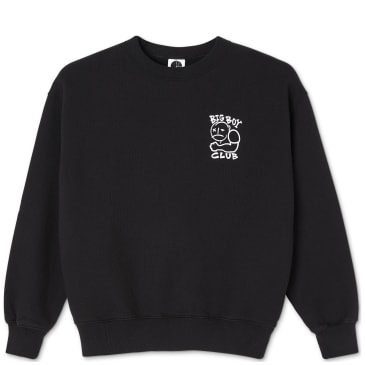 Polar Skate Co Big Boy Club Sweatshirt - Black