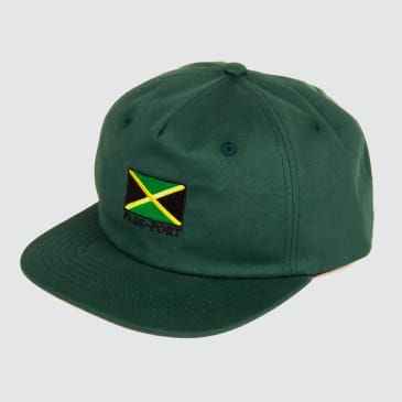 Passport Skateboards - Jamaica 5-Panel Cap (Green)