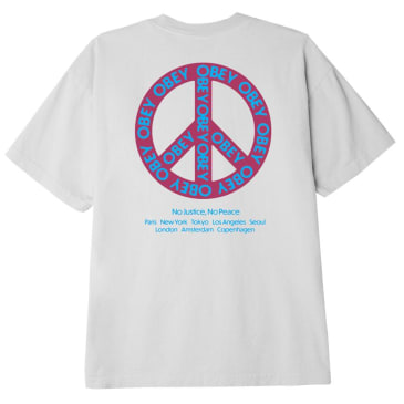 OBEY Peace Classic Short Sleeve T-Shirt