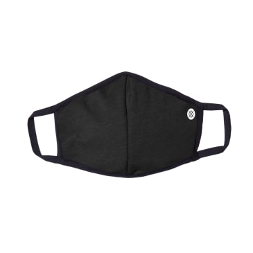 Stance Solid Face Mask - Black/Grey