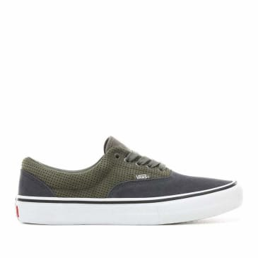 Vans Era Pro Skate Shoes - Perf / Grape Leaf / Ebony