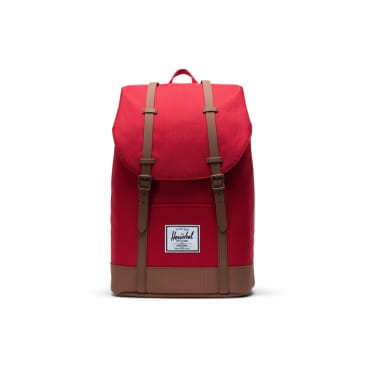 Herschel Retreat - Red/Saddle Brown