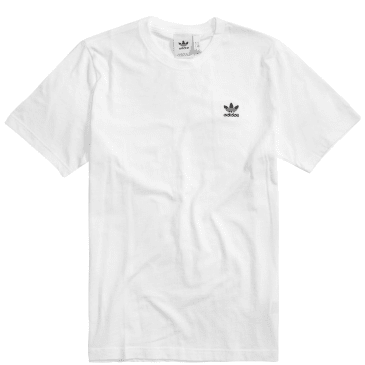 adidas Trefoil Essentials T-Shirt - White