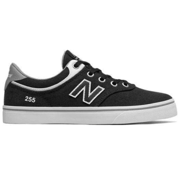 New Balance Numeric Kids 255 (Black/White)