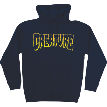 Creature - Logo Outline HD/SWT NAVY (Large)