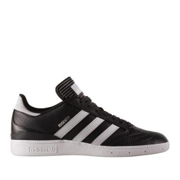 adidas Skateboarding Busenitz Pro Shoes - Black Leather