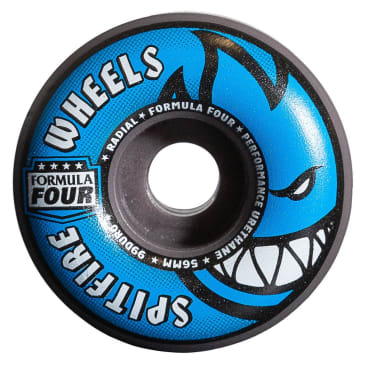 Spitfire Wheels F4 Radials 99 Grey/Blue 54mm