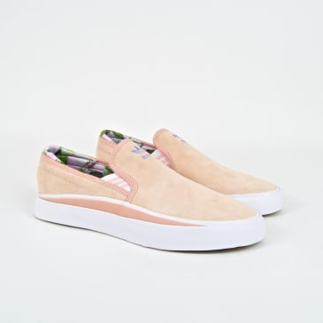 Adidas Skateboarding - Nora Vasconcellos Sabalo Slip-On Shoes - Clear Orange / Footwear White / Light Purple