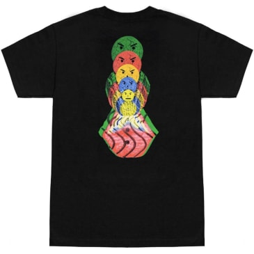 Quartersnacks Surf Shop T-Shirt - Black
