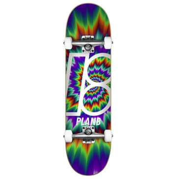 """Plan B Team Tune Out Complete Skateboard 7.75"""""""