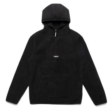 Chrystie OG Logo Polar Fleece Pullover Hoodie_Black